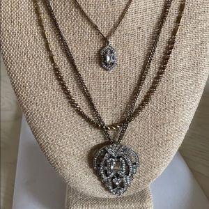 Chloe+Isabel Art Deco Convertible Pendant Necklace
